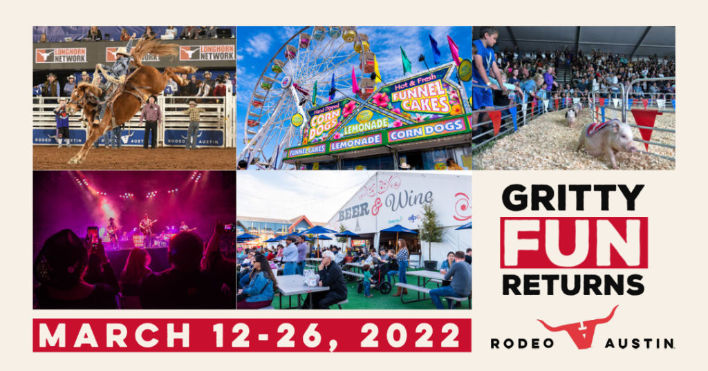 Mark your calendars for Rodeo Austin 2022!